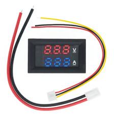 Dc 0 100v 10a Dual Led Digital Voltmeter Ammeter Voltage Amp Power Volt Ampere
