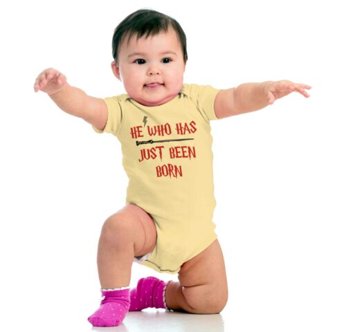 Just Been Born Funny Shirt Cool Gift Baby Cute Romper Bodysuit