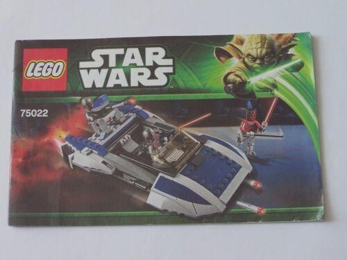 75022 LEGO® Bauanleitung Instruction Nr