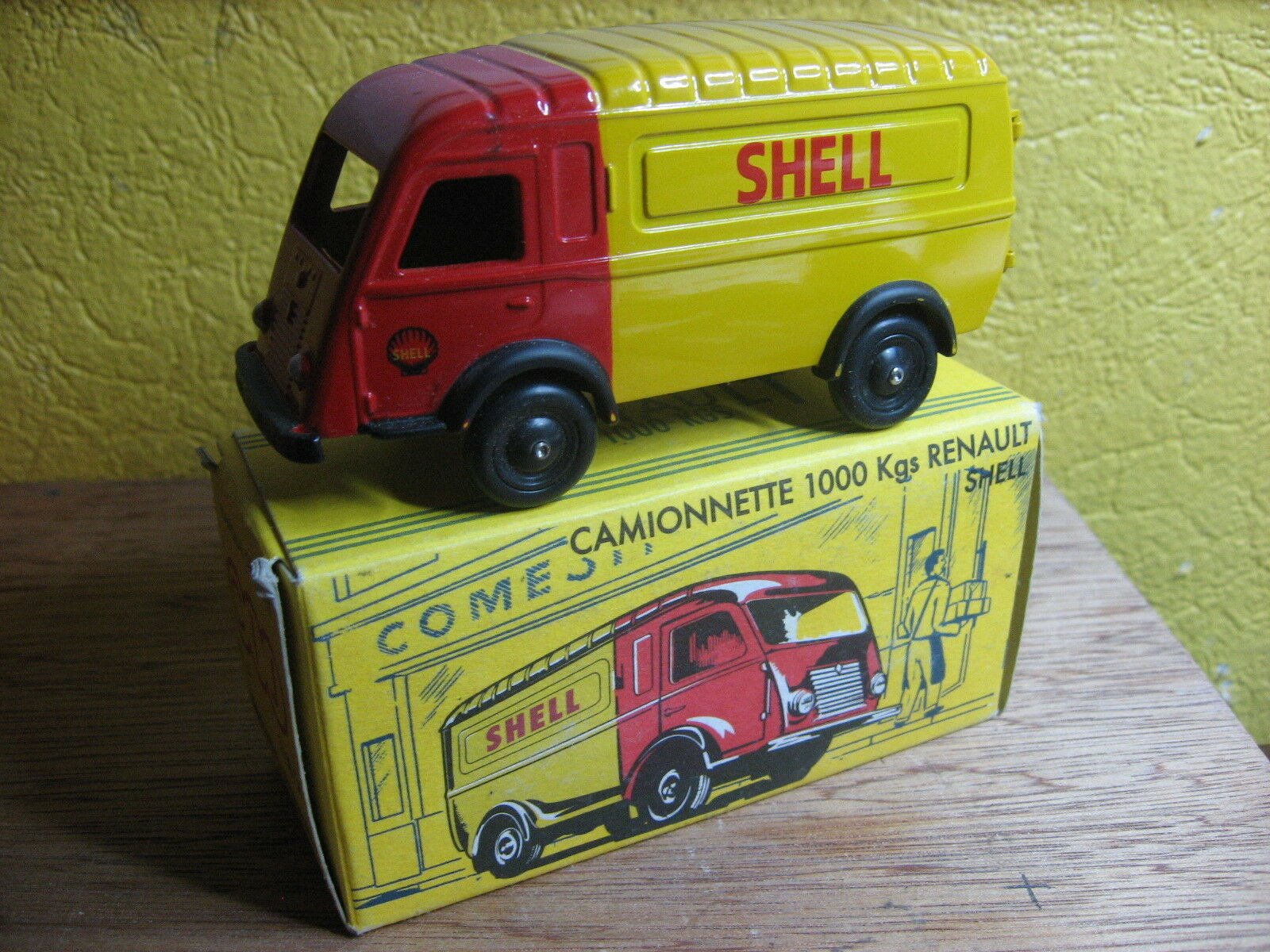C I J REEDITION RENAULT 1000 KGS SHELL REF 3 60 S1  NOREV