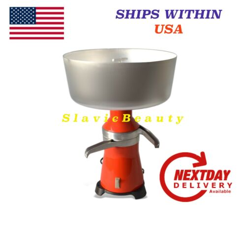 DAIRY CREAM SEPARATOR 100L//h ELECTRIC #15 METAL 120V SHIP FREE FROM USA!
