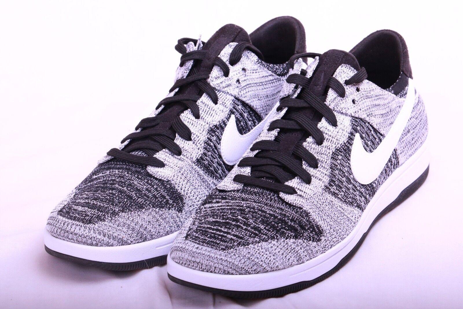 Nike Mens Dunk Flyknit Black White Oreo 917746 003 Size 13