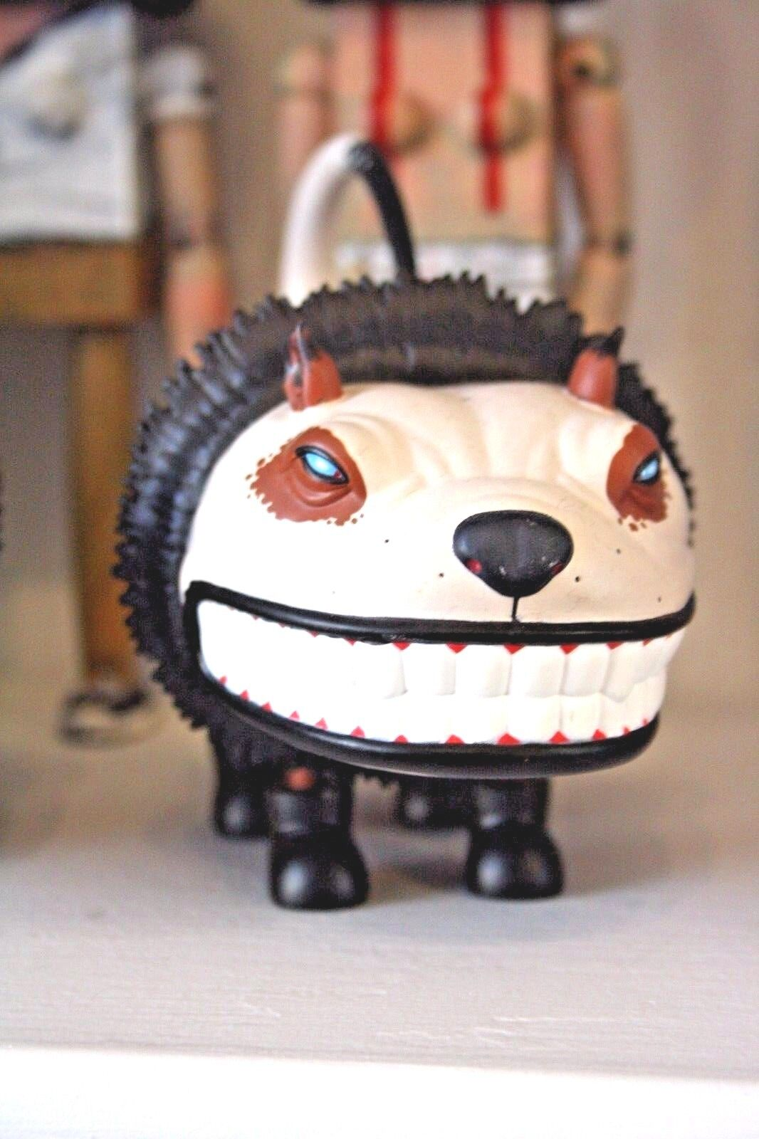 SCOTT MUSGROVE StrangeCo Designer Toy avvioED GLAMOUR CAT CAT CAT 5 NATURAL Marroneee cce5b3
