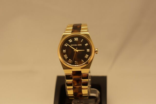 55a30e2a455a NEW - Ladies Michael Kors MK6151 Channing Gold-tone Tortoise Shell Acetate  Watch
