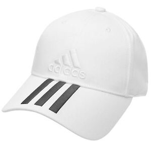 NEW UNISEX Adidas Performance 3 Stripes Training Cap Hat white for ... 4a33e1ad37