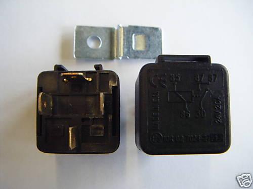 Relay 24V 20Amp 4 Pin Qty 1