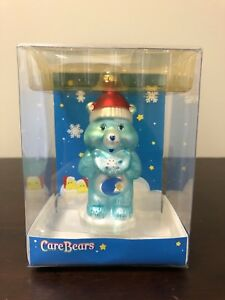 Care Bears Holiday Glass Ornament Bedtime Bear 2005 ...