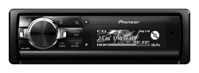 Pioneer DEH-80PRS USB CD 3-Preouts(5V) DSP Auto EQ Time Aligment (No Bluetooth)