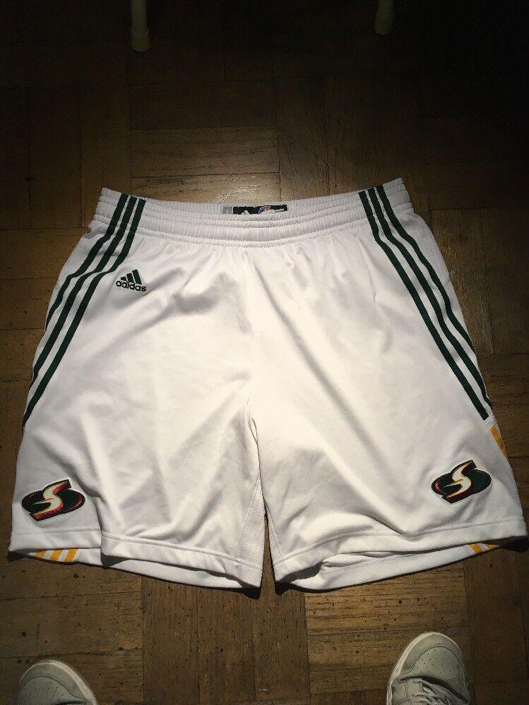 Pantalones cortos de baloncesto Adidas Seattle Storm para mujer XL Juego de Quanitra Hollingsworth desgastado