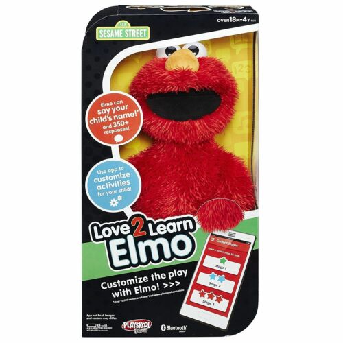 Love 2 en savoir Elmo Sesame Street Playskool amis