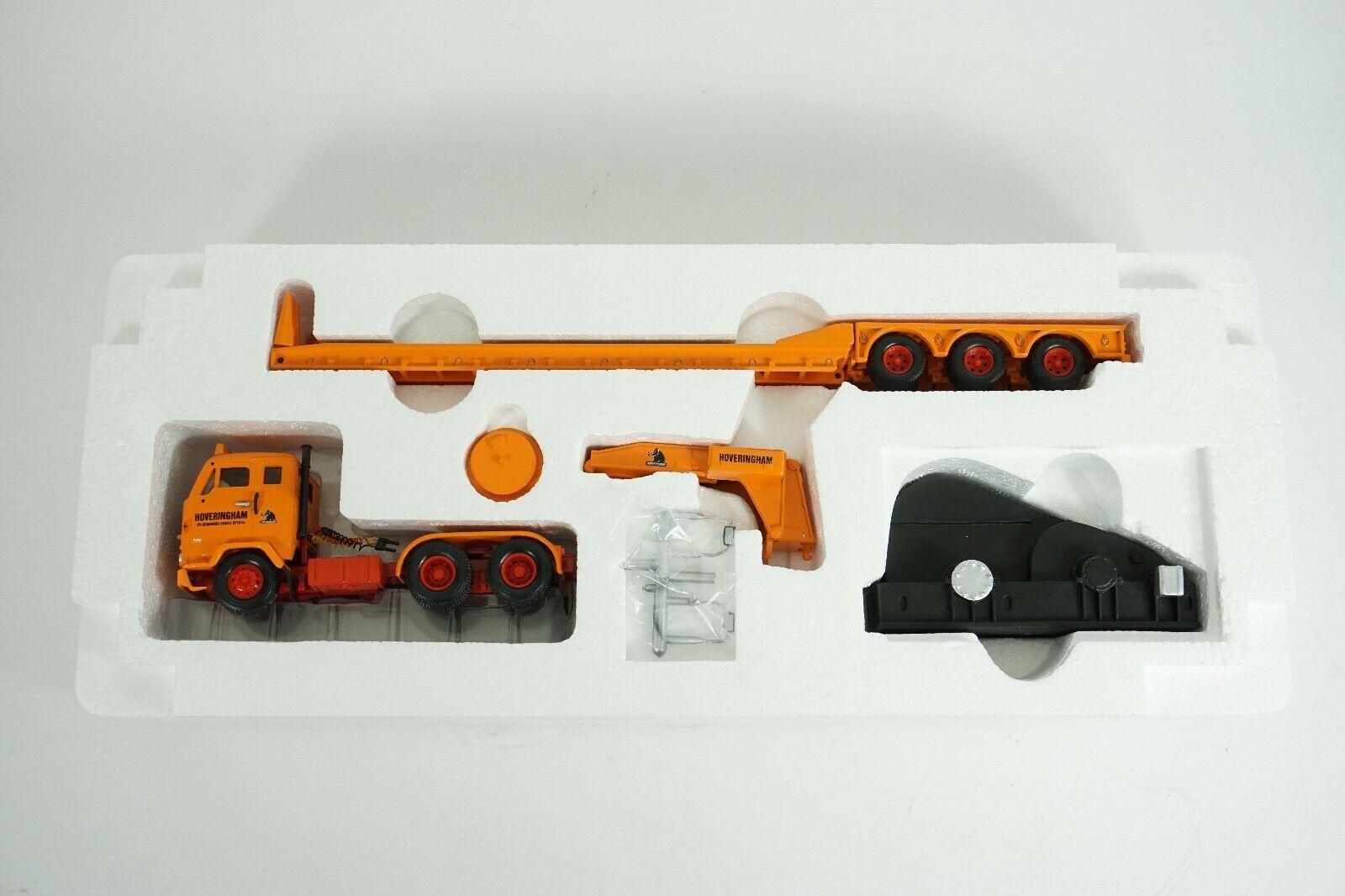 Corgi Heavy Haulage 1 50 Volvo F88 3 Axle Low Loader & Load item CC13104 NEW