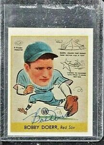 *BOBBY DOERR*  1938 Goudey Big League RC RP Hand-Signed Auto  BOSTON RED SOX