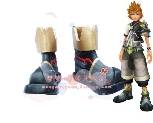 New Anime Kingdom Hearts Sora 2 Ventus Cosplay Shoes