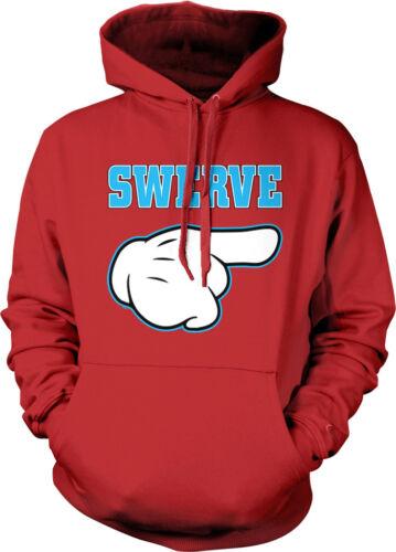 Hip Hop Rave Twerk  Hoodie Pullover Swerve Cartoon Hand Pointing