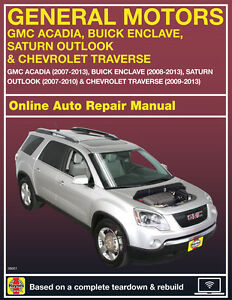 2007 Saturn Outlook Haynes Online Repair Manual-Select Access