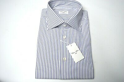 Supplement The Vital Energy And Nourish Yin New Cesare Attolini Dress Shirt Size 17 Us 43 Eu cod At15