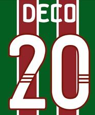 Deco  #20 Fluminese 2010 Home Football Nameset for shirt