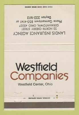 Matchbook Cover - Westfield Companies Landis Insurance ...