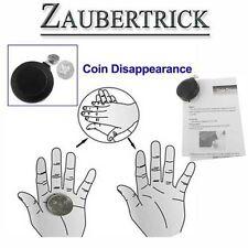 Zaubertrick Illusionszauber Münze verschwindet Zauberer zaubern Trick Magie WOW