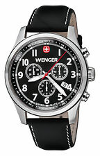 Wenger TerraGraph CHRONO GENTS WATCH 01.0543.101 - RRP £ 269-NUOVO