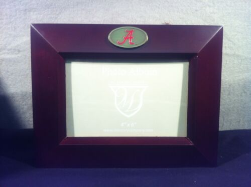 University of Alabama Crimson Tide Wooden Photo Album 4 X 6
