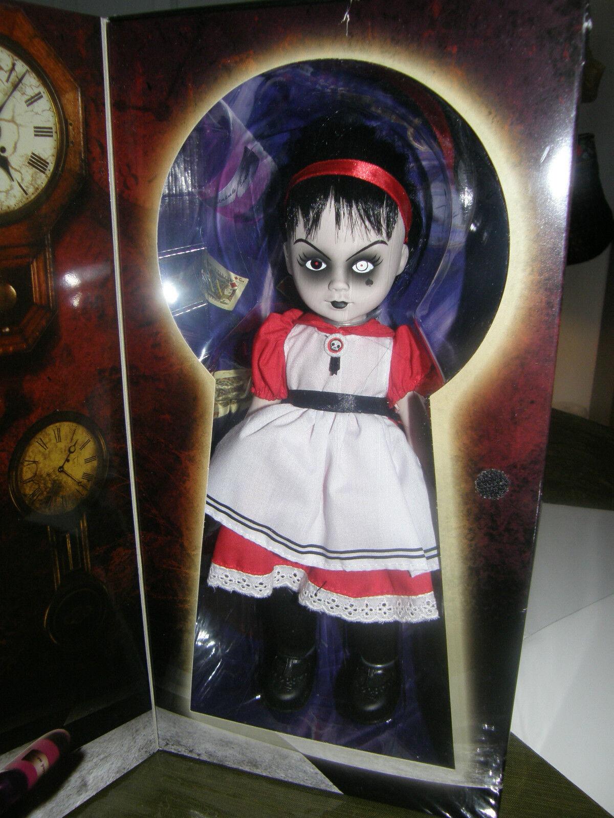 Living Dead Doll Alicia en el país de las maravillas  Sadie  2009 Muñeca de sellado de fábrica