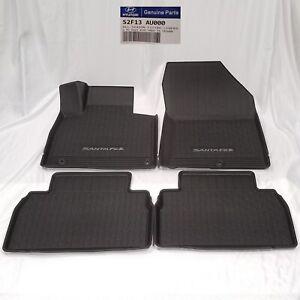Oe 2019 2020 Hyundai Santa Fe Weather Floor Liners Mats S2f13au100