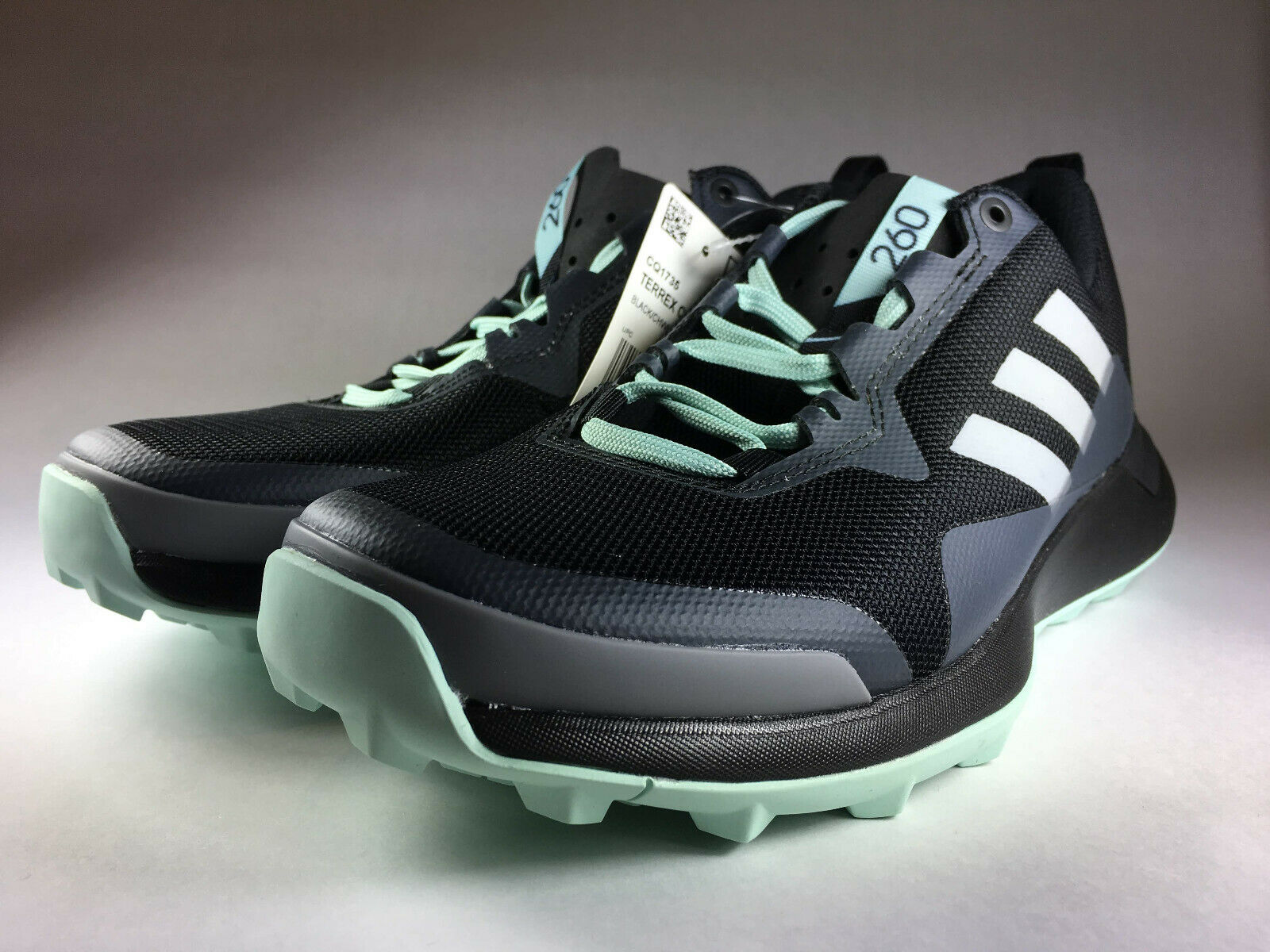 Adidas CMTK Women's shoes Size 9 Black Chalk Ash Green New With Tag