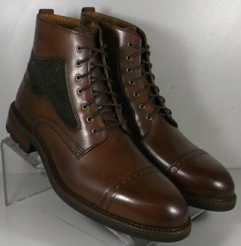 271713 MSBT50 Men/'s Shoes Size 13 M Brown Leather Lace Boots Johnston /& Murphy