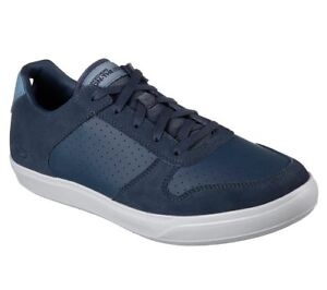 Skechers-Men-039-s-Casual-Comfort-Walking-Shoes-GoVulc-2-Limit-54318-Navy-Gray