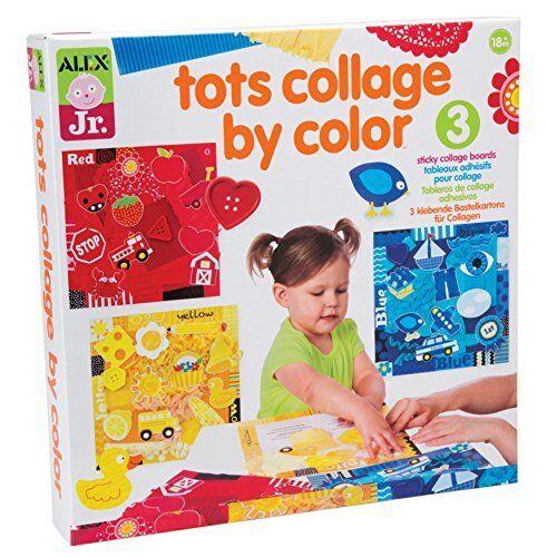 Alex Toys Jr Tots Collage By Colour Art Supplies
