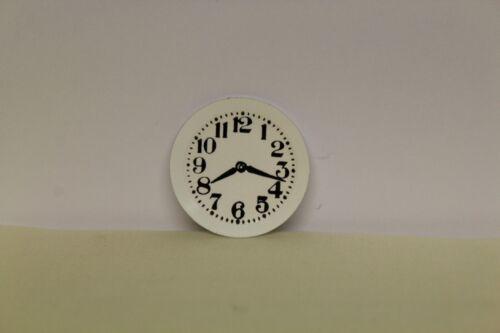 PLATE   WALL CLOCK Dolls House Miniature