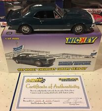 1967 Nickey 427 Camaro Turquoise 1/18 Scale Stock #  204S 1 Of Only 1500!
