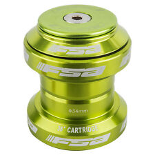 FSA Colored Orbit MX 1 1/8 Threadless Anodized Mountain Bike Headset + Cap Green