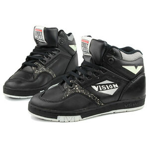 VISION-FLYING-V-HIGH-TOPS-SNEAKERS-US-8-EU-40-5-41-NOS-VINTAGE-SKATEBOARD