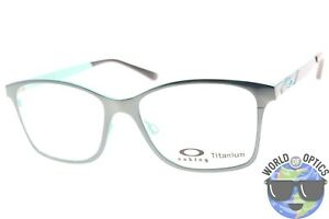 350fb27c80 Oakley RX Eyeglasses OX5097-0553 Women s Validate Jade Chrome Frame ...