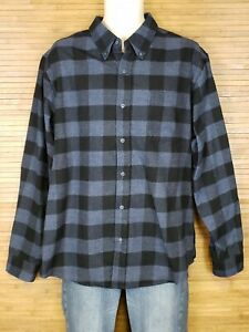 Weatherproof-Vintage-Blue-Checkered-Shirt-Flannel-Mens-Size-XL-EUC