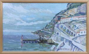 Erich-Fruhnert-1912-Meissen-Dresden-Coast-at-Mediterranean-Capri-Ischia