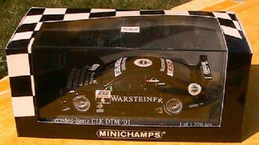 MERCEDES CLK COUPE  6 DTM 01 FAESSLER MINICHAMPS 400013106 1 43 WARSTEINER AMG