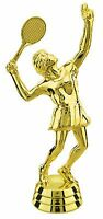 Female Tennis Figure Player Sport Match Game Trophy Award Low As $2.99 Ea T-177