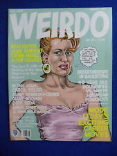 ~~ WEIRDO #18 ~~ LAST GASP COMIX ~ R. CRUMB AND MORE! ~~