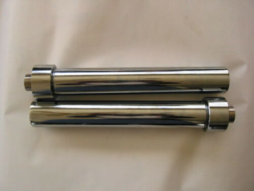 """with elbows FAT Lowrider Hydraulics 10/"""" cylinders chrome finished"""