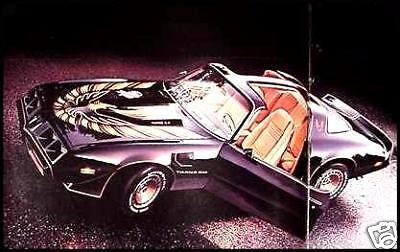 1980 Pontiac Deluxe Brochure- Firebird, Trans AM! Original 80