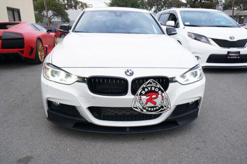 M Sport Performance Style Front Lip PP Fits 12-18 BMW F30 F31 3-Series Sedan