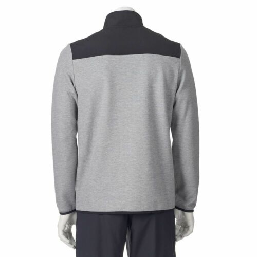 New Fila Sport Men's Big /& Tall Colorblock 1//4-Zip Fleece Pullover MSRP $60
