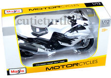 Maisto 20-12028 Kawasaki Ninja ZX-14R Motorcycle Bike 1:12 Diecast White