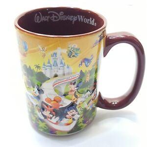 Walt-Disney-World-Coffee-Cup-Mug-14-Fl-Oz-4-Parks-One-World-3D-Characters