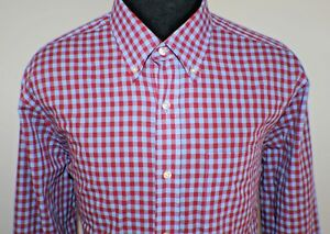Saddlebred-Mens-Born-Southern-Wrinkle-Free-Long-Sleeve-Button-Down-Shirt-Size-XL