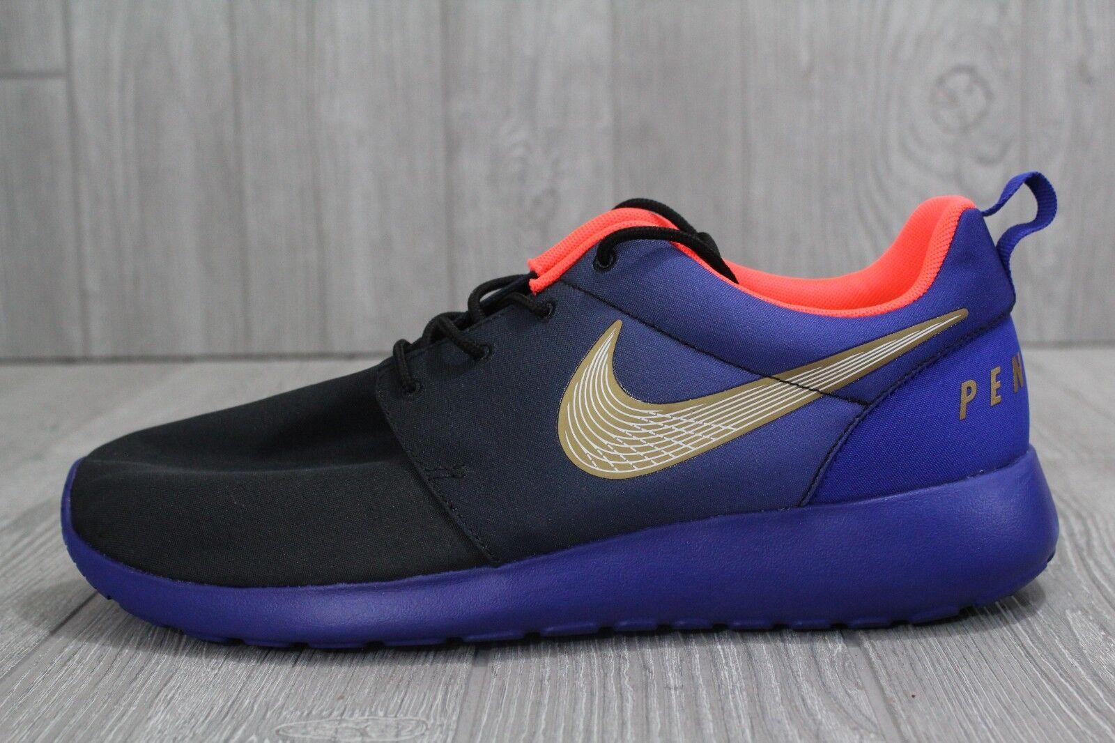27 RARE Nike Roshe Run  Penn Relays  Edition bluee shoes 840799 075 SZ 10