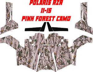 Polaris rzr 11-15 side by side ambush camo Wrap Decal Sticker kit